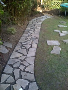 Whetstone garden path